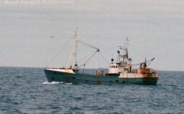 Sigurjón Arnlaugsson HF-210 (+1990)