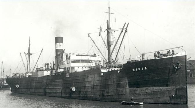 """Wirta """"Sykurskipið"""" (+1941)"""